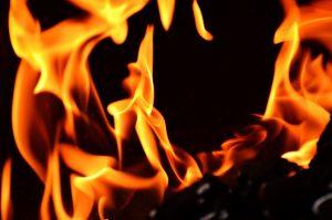 אש בוערת