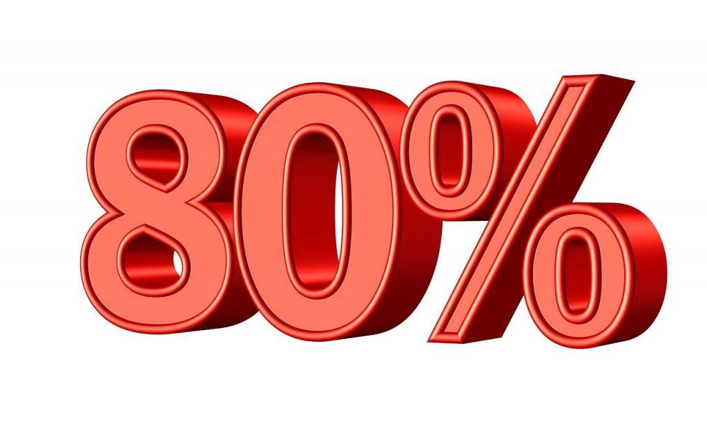שמונים אחוז